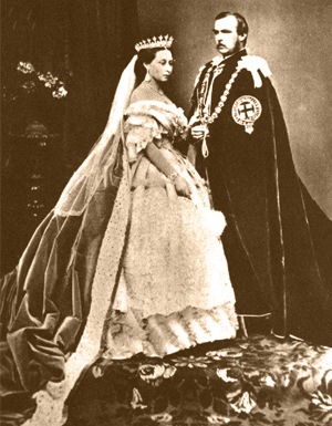 68e45b01487 Reine Victoria et le Prince Albert - Histoire d amour